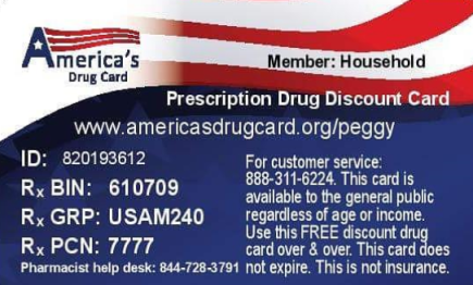 Community Assitance Program Prescription Drug Discount Card